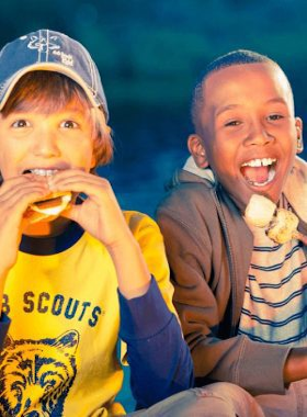 cub-scout-eating